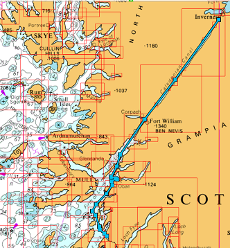 Inverness, Caledonian Canal, Crinan Canal