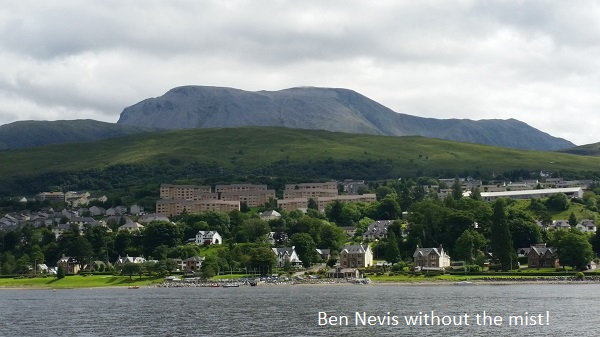 Ben Nevis without the mist