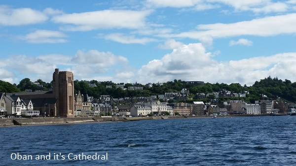 Oban and cathedral