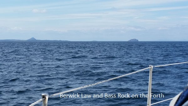 Berwick Law and Bass Rock